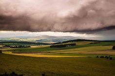 Storm cloud over Angus countryside Bell Image, The Forth, 11 August, Image Caption, Pictures Images, Photos, Storm Clouds, Great Shots, Beautiful Images