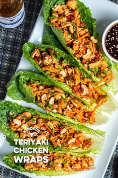 Delicious lettuce wraps made in 30 minutes! - Delicious lettuce wraps made in 30 minutes! Best Picture For thanksgiving recipes For Your Taste - Healthy Cooking, Healthy Dinner Recipes, Healthy Snacks, Cooking Recipes, Keto Recipes, Health Recipes, Cooking Eggs, Cooking Utensils, Healthy Recipes With Chicken