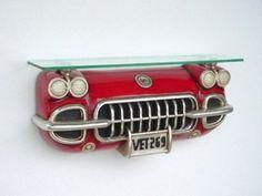 Mobílias inspiradas em carros antigos