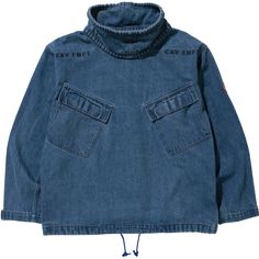 Cav Empt, Wash Denim Pullover Jacket (Blue)