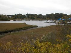 Boats on the water in Chatham, MA.   Go to www.YourTravelVideos.com or just click on photo for home videos and much more on sites like this.