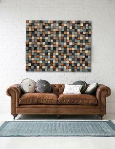 Arte de pared de madera madera de la pared arte por WallWooden