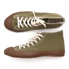 Anachronorm Olive Mid Vulcanized Sneakers 6b4479f8a