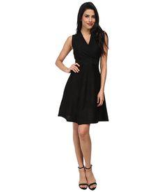Calvin Klein Calvin Klein  Sleeveless ALine Knit CD4W2B66 BlackBlack Womens Dress for 82.99 at Im in!
