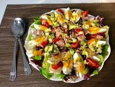 Cobb Salad, Potato Salad, Potatoes, Keto, Lunch, Vegetables, Ethnic Recipes, Blog, Fitness