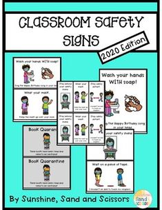 Grab these Back to School Classroom signs- 2020 version!