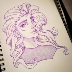 Another one :-) #drawing #sketchbook #art #instaart #artofinstagram #portrait #face #improvement #sketchbook #sketch #drawing #photoshop #painting #progress