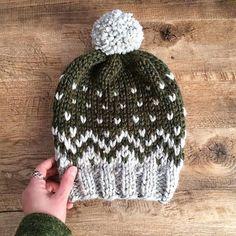 Mountain Toque Knitting Pattern Fair Isle Fair Isle Knit