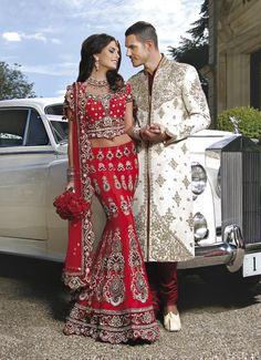 #lengha #bridallengha #southasianwedding #indianwedding #redlengha #bridalcouture