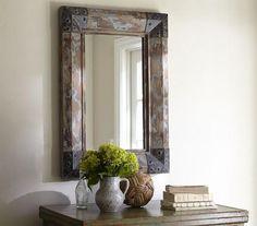 decor reclaimed wood mirrors6 HomeSpirations