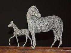 Image result for artesanato com arame de aluminio passo a passo
