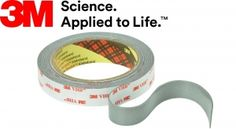 25mm/5m 3M™ RP45F Taśma dwustronna Tape, How To Apply, Science, Blog, Duct Tape, Blogging, Science Comics, Ribbon, Band