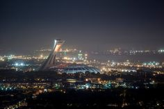 The Olympic Stadium was built by architect Roger Taillibert when Montreal hosted the 1976 Olympics. Take a trip to the top of the tower for a great view!