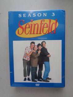Seinfeld - Season 3 (DVD, 2004, 4-Disc Set) NEW and Sealed
