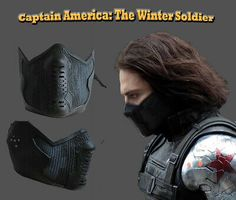 Captain America 2 Winter Soldier James Buchanan/bucky Barnes Cosplay Latex Mask for sale online Winter Soldier Mask, Winter Soldier Cosplay, Captain America 2, Mens Face Mask, Airsoft Mask, Leather Mask, Cool Masks, Masks For Sale, Diy Mask