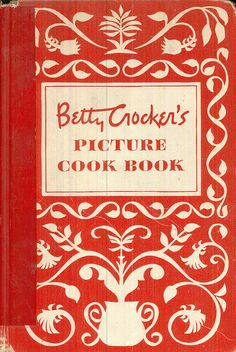 Betty Crockers Picture Cook Book Vintage Cookbook by CrabbyCats, $59.95