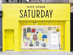 Kate Spade Saturday is revolutionizing online/window shopping with their 24-Hour Window Shop – 4 locations in NYC