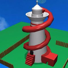 The possibilities of Morphi's #Clipbrd tool are endless. A serene #lighthouse is easily transformed into a #helterskelter by @ashley.pavlovic. For those who are unfamiliar with a helterskelter: it's a tall slide that winds around a tower at a fair. #3dprinting #3dmodel #3ddesign #3dprinter #app #ipad #ipadmini #STEM #STEAM #student #education #edtech #uk #british #spalding #lincolnshire #forge #blacksmith #create #creativity #ideas #visualize #visualization #amusement #fun #slide