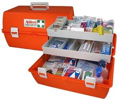 First aid kit list with over 50 Must haves