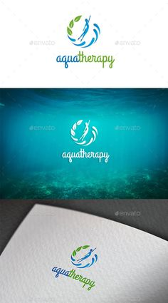 Aquatherapy Logo Design Template Vector #logotype Download it here: http://graphicriver.net/item/aquatherapy-logo-template/12965797?s_rank=1075?ref=nexion