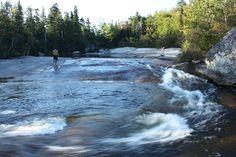 Ledge Falls - Baxter State Park, Maine