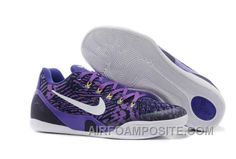 http://www.airfoamposite.com/for-sale-nike-kobe-9-em-low-court-purple-black-white.html FOR SALE NIKE KOBE 9 EM LOW COURT PURPLE BLACK WHITE Only $71.91 , Free Shipping!