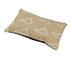 Virginia Fleece Dog Bed >>> You can get more details by clicking on the image.