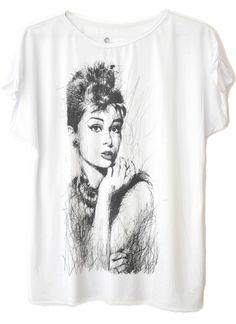 Tamanho Único Audrey Rabisco #moda #audrey #diva #movie #fashion #womenfashion