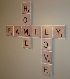 Scrabble Tile Wall Decor Scrabble Tile Wall Art  For The Home  Pinterest  Scrabble Tiles