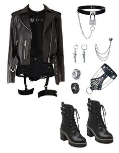 Kpop Fashion Outfits, Stage Outfits, Edgy Outfits, Mode Outfits, Korean Outfits, Grunge Outfits, Girl Outfits, Womens Fashion, Fashion Fashion