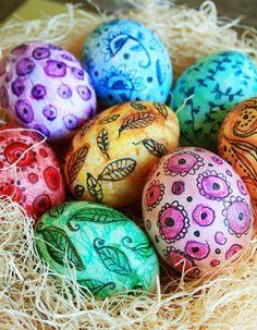 Eggtastic: Top Ten Ways to Decorate Easter Eggs from Alisa Burke