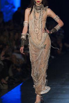 Défile Jean Paul Gaultier Haute couture Printemps-été 2014 - Détail 257