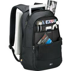 """Case Logic Tablet + 15.6"""" Laptop Backpack,  Black Laptop / MacBook Pro Backpack  #CaseLogic"""