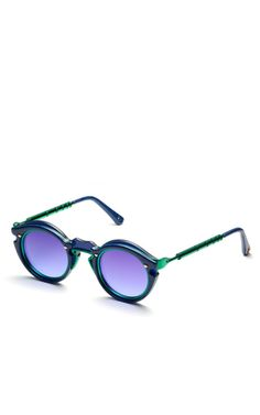 Two-Tone Sunglasses by Kenzo - Moda Operandi