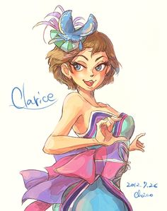 Clarice by chacckco.deviantart.com