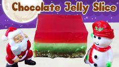 How To Make Christmas Chocolate Jelly Slice