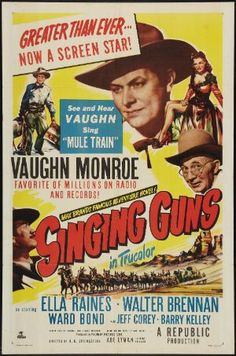 Singing Guns (1950) - Walter Brennan DVD