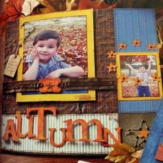 Scrapbook Page | Autumn
