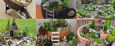 Cómo hacer un jardín en miniatura paso a paso