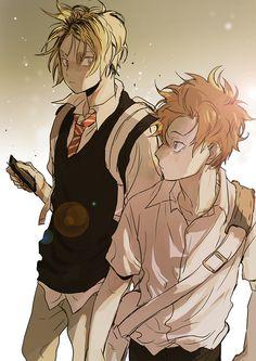 Kenma and Hinata - Haikyuu!!