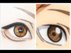 Tutorial : Anime Eye Makeup 207 • Hinata Shoyo