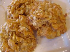Carmel Corn Flake Cookies