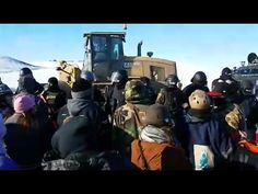 Dozens Arrested at Standing Rock as Veterans Vow to Block Completion of Dakota Access Pipeline - YouTube
