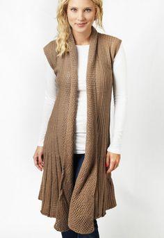 Long sweater vest...love