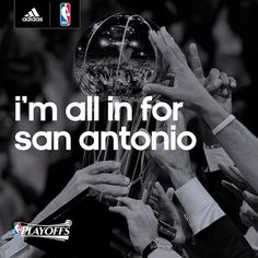 All in for the San Antonio Spurs