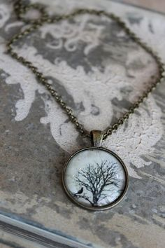 Nightfall necklace by HaveFaithDesigns on Etsy