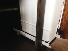 Converting A Cabinet To A Pull Out Trash Can