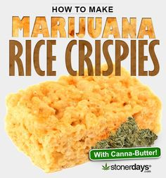 How to Make Rice Crispies with Marijuana: Snap, Crackle, and Pop would turn into stoners if they tasted these rice krispy treats!