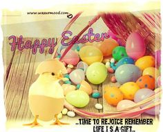 Happy Easter. Time to rejoice remember life is a gift.www.wazurmood.com