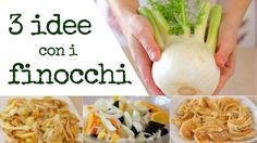 RICETTE CON FINOCCHI, 3 idee per preparare i Finocchi, ricette facili e veloci con questa verdura di stagione economica, salutare leggera e molto versatile